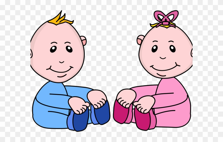 Baby Girl Clipart Boy Pink And Blue Babies Clipart Png Download 946000 Pinclipart