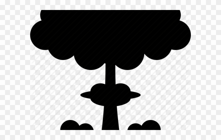 Nuclear Bomb Silhouette Png Clipart (#949706) - PinClipart