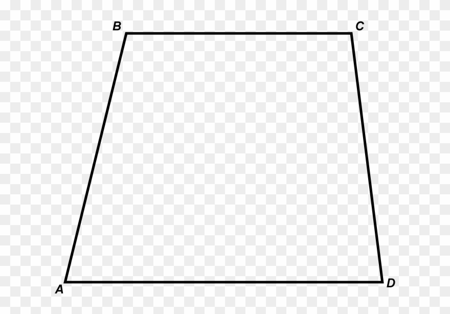 Png Free Download Math Clip Art Clipart Trapezoid White