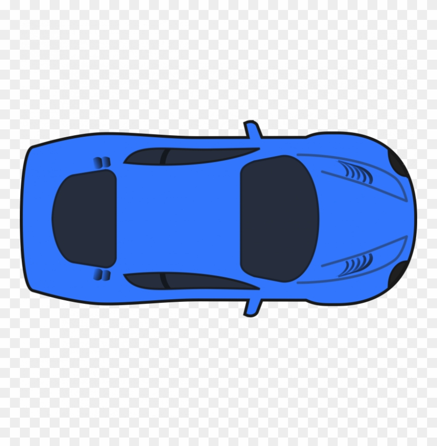 Nascar Clipart Side View Car Clipart Top View Png Download
