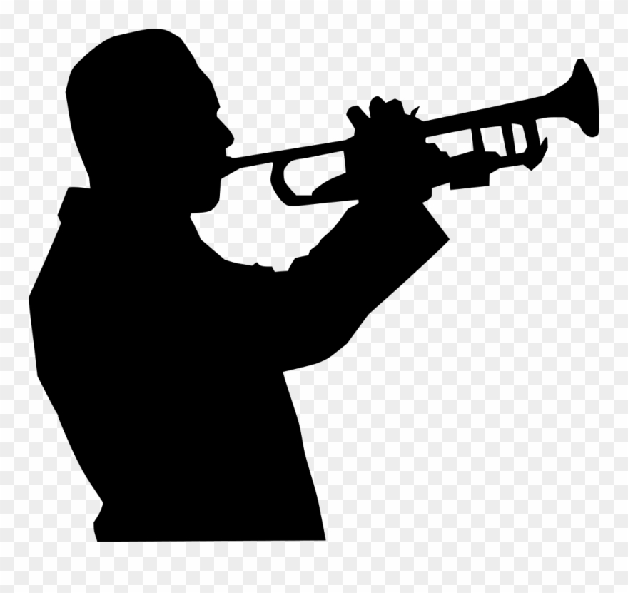 Picture Freeuse Download Angels Vector Trumpet Clip - Man Playing