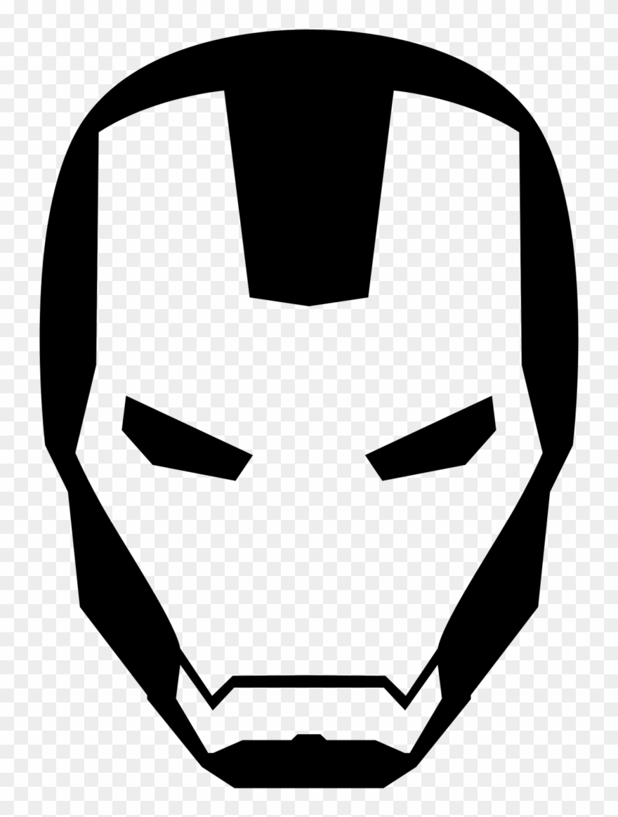 Iron Man Svg Download Iron Man Svg Black And White Iron Man Logo Svg Clipart 953266 Pinclipart