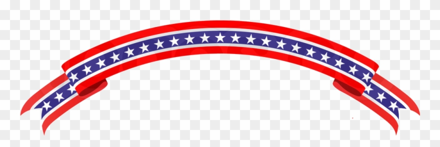 Patriotic banner. Png vector graphics clipart