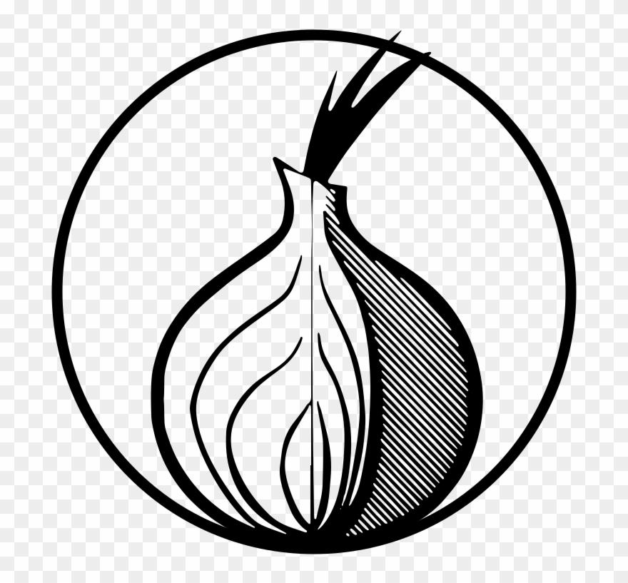 Orbot Logo Black White - Tor Onion Logo Black White Clipart