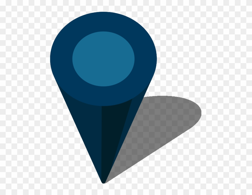 Simple Location Map Pin Panda Free Images - Location Icon