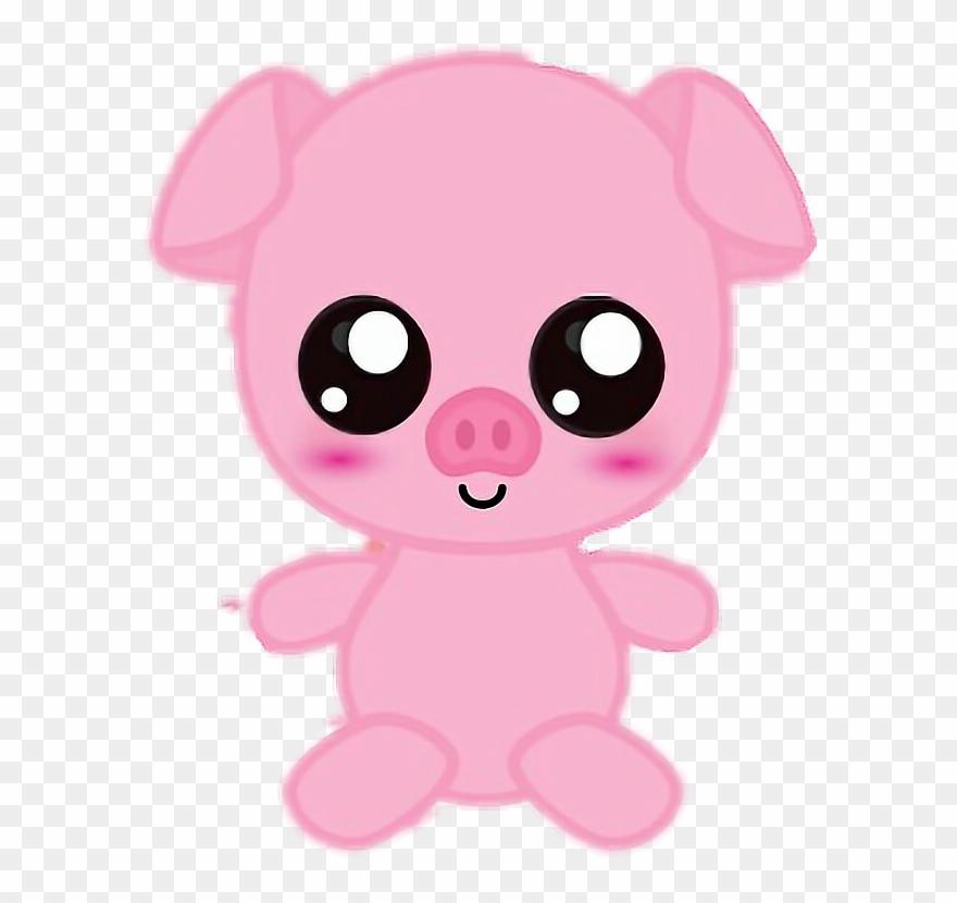 Cute Pig Piggy Cutie Art Drawing Animals Angel Lilo Y Sch Clipart