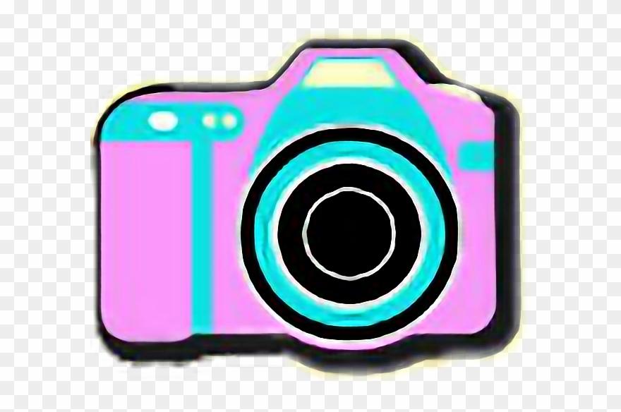 90 S Camera Pink Cute Radfreetoedit Camera Clipart 956397 Pinclipart