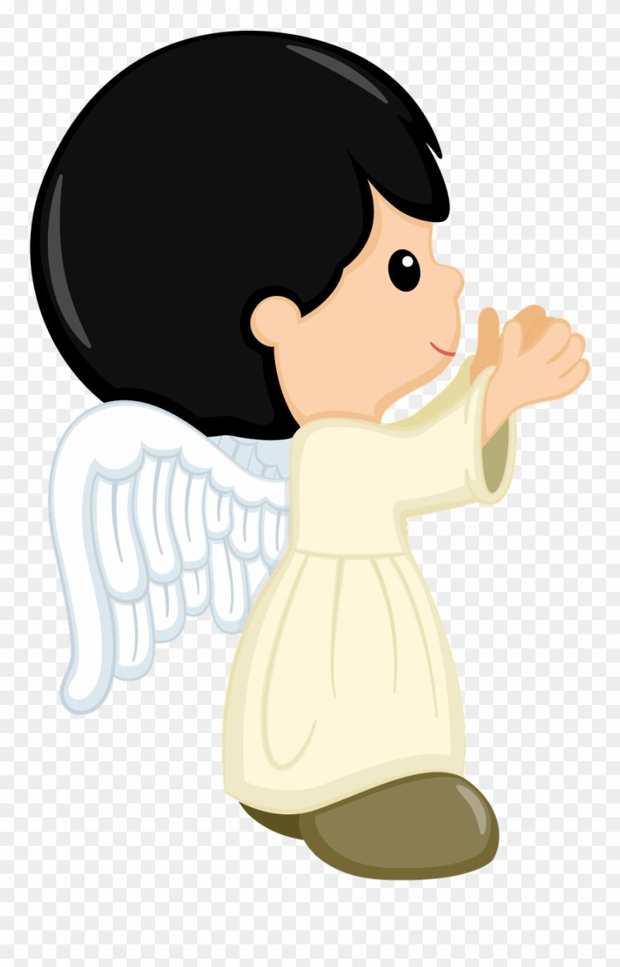 Angel baptism. Clipart boy cookies bible