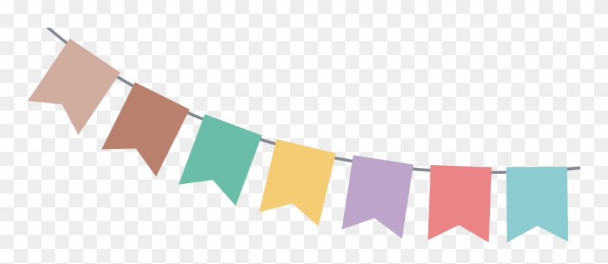 Bunting Vector Image Royalty Free - Party Banner Vector ... (880 x 382 Pixel)