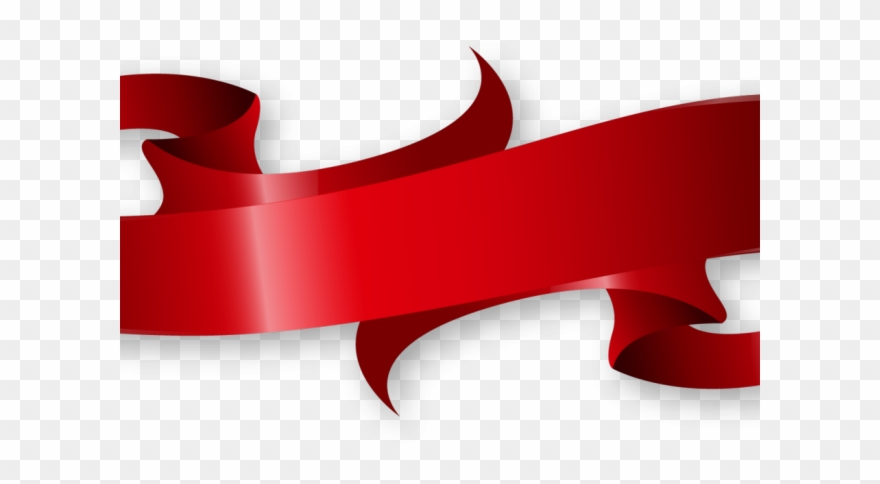 Christmas Ribbon Clipart Arrow Red Ribbon Banner Png