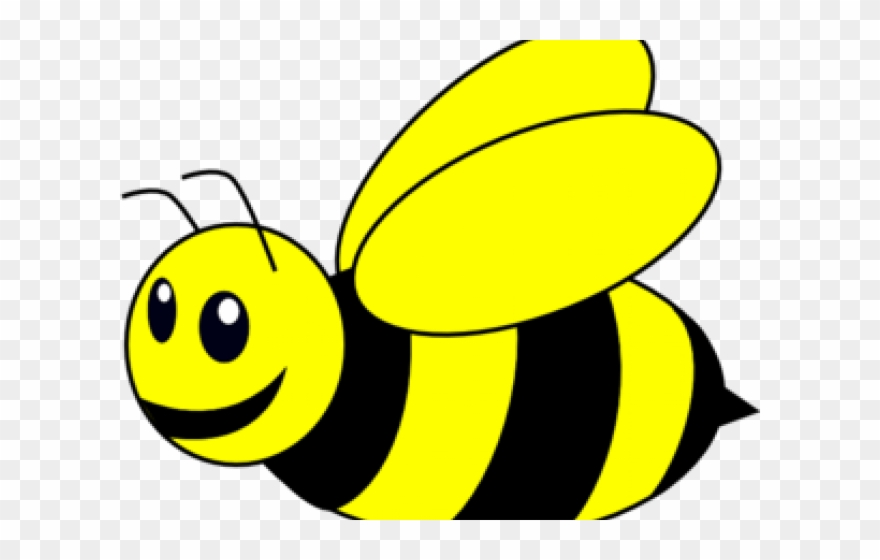 Bumblebee Clipart - Black And White Clip Art Bee - Png ...