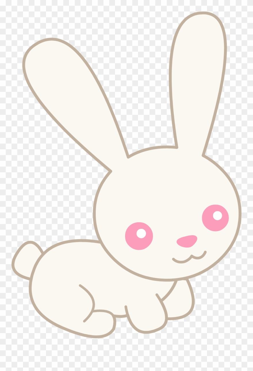 Bunny cute. Rabbit clip art groups