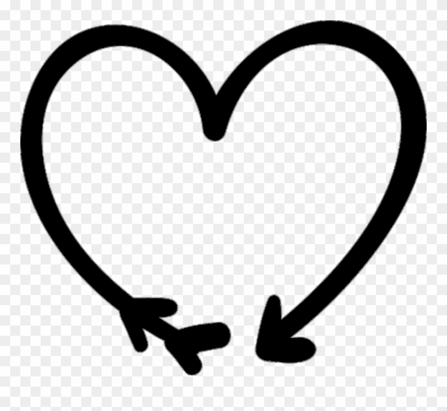 Heart doodle. Png clipart pinclipart