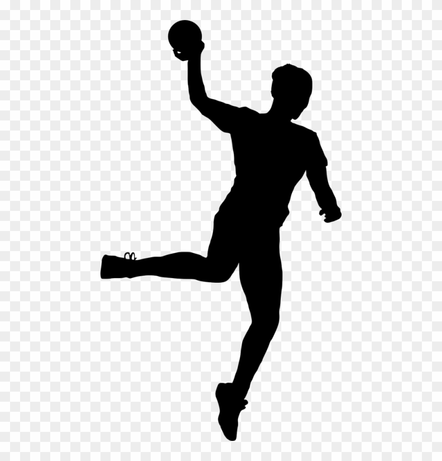 Sport Handball Silhouette Png Sport Silhouette Png Clipart 979778 Pinclipart