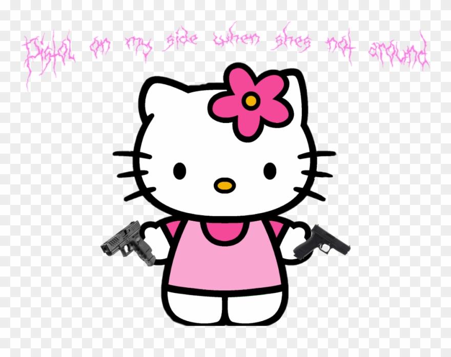 Lyrics Handgun Pistols Nsw Edit Hellokitty Guns Whatsmi Hello