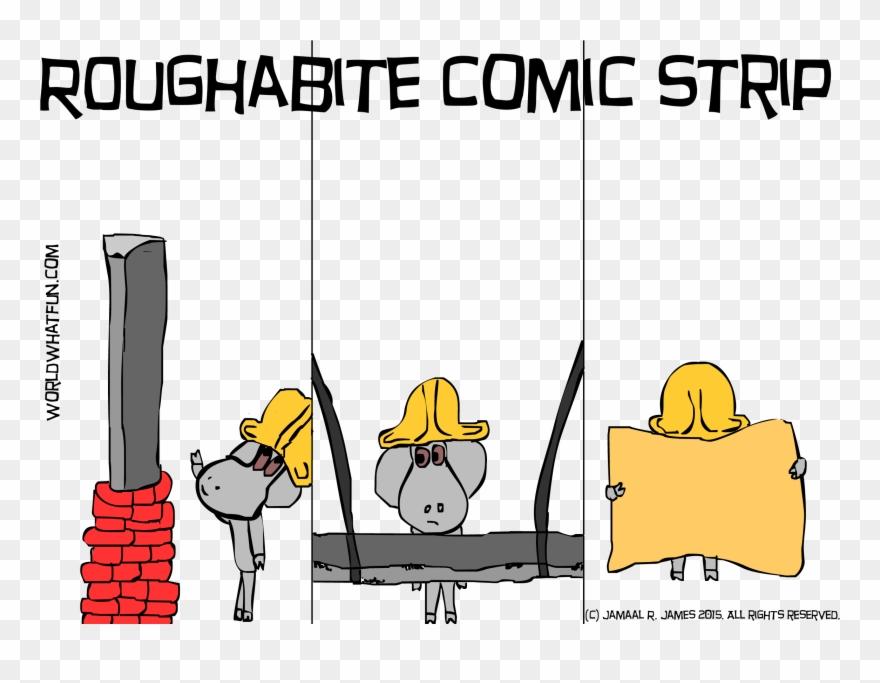 Roughabite Comic Strip Created By Cartoonist Jamaal Road Trip 5 X7