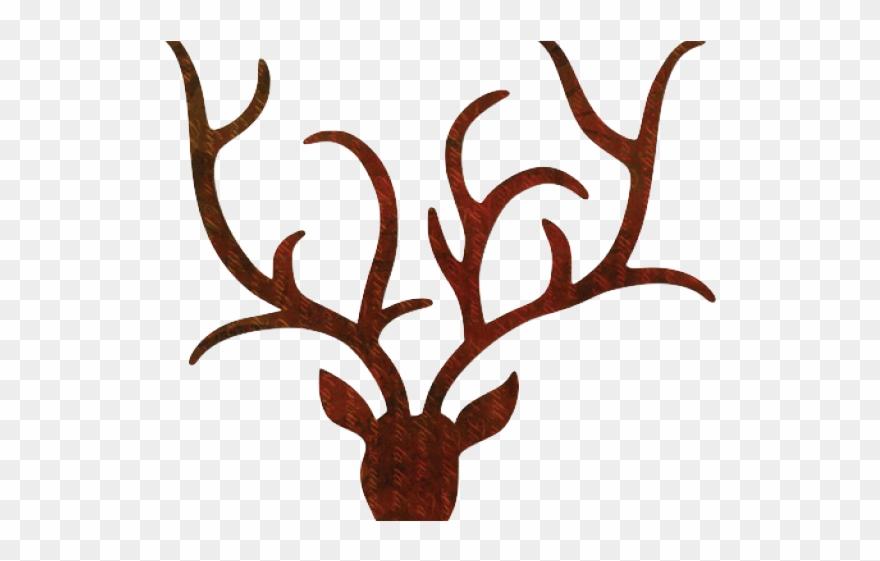 Antler Clipart Transparent Tumblr - Reindeer Antlers ...